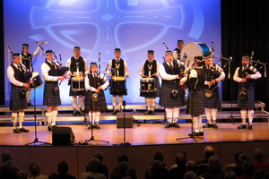 Shanty-Chor Berlin - Februar 2018 - Shanty meets Rock- Berlin Police Pipe Band